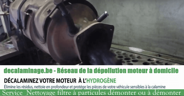 Nettoyage du filtre à particules et du moteur par hydrogène à Chatelet
